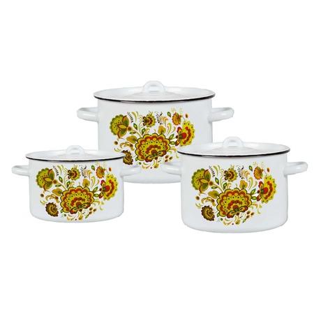 Купить Набор посуды Северсталь «Хохлома»