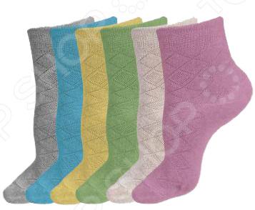 Набор носков на каждый день «МесяцОК». Женский набор. В ассортименте jd коллекция светло телесный 12 пар носков 15d две кости размер