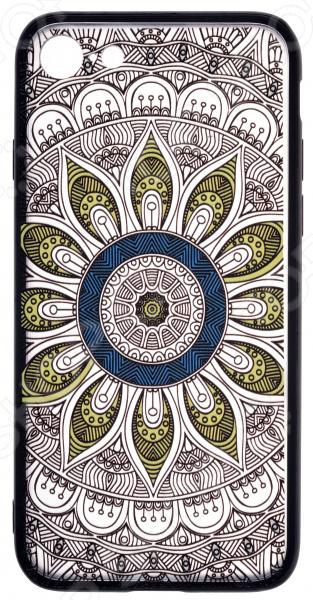 Накладка защитная для iPhone skinBOX Apple iPhone 7 чехлы для телефонов skinbox накладка skinbox silicone carbon для apple iphone 7