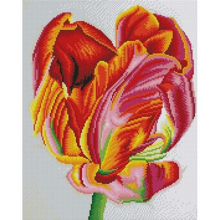 Купить Набор для творчества Color Kit «Алмазная мозаика». Рисунок: «Тюльпан»