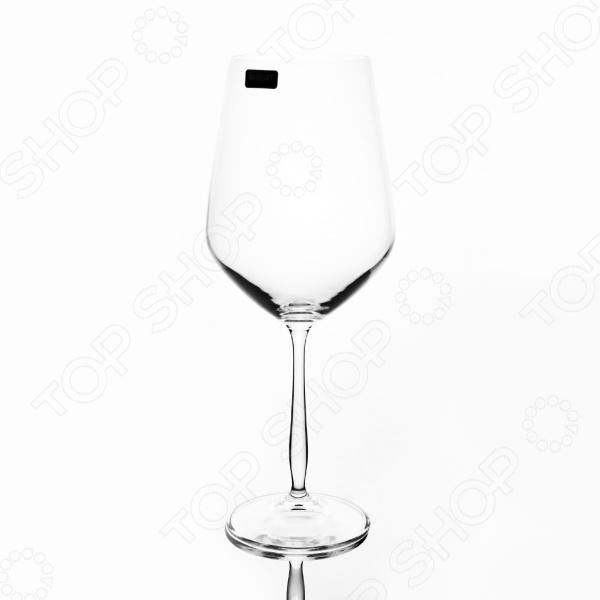 Набор бокалов Banquet Crystal 02B2G003800 набор бокалов crystalex ангела оптика отводка зол 6шт 400мл бренди стекло