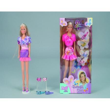 Купить Кукла с аксессуарами Simba «Штеффи + украшения для волос». В ассортименте