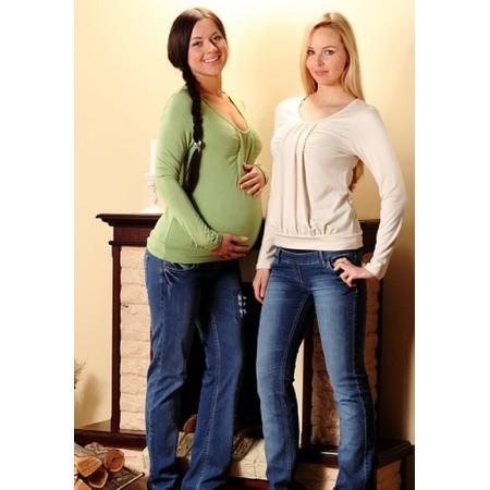 Купить Кофта для беременных Nuova Vita 1302. Цвет: кремовый