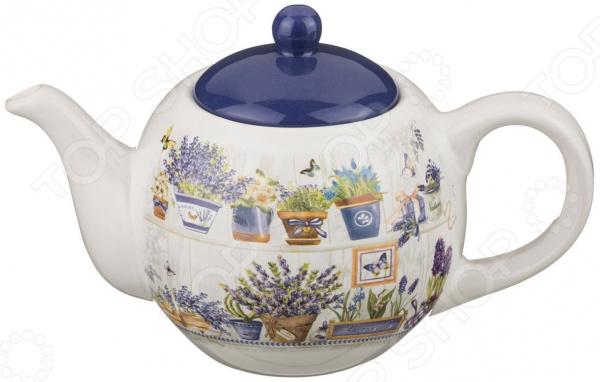 Чайник заварочный Agness «Лавандовый рай» 358-908 лавандовый бальзам где в киеве