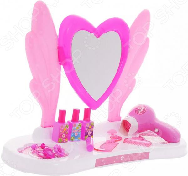 Игровой набор для девочки 1 Toy «Туалетный столик малый: Сердце»