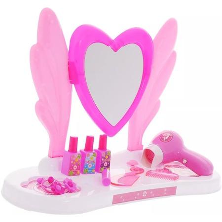 Купить Игровой набор для девочки 1 Toy «Туалетный столик малый: Сердце»