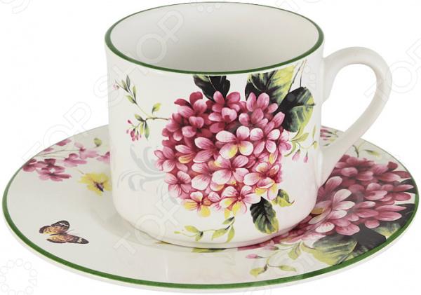 Чайная пара Imari «Цветы и птицы»