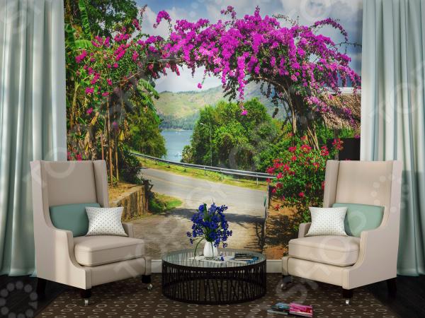 Фотообои ТамиТекс «Цветочная арка»