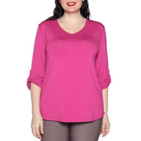 Купить Блуза Kaproni «Праздник души». Цвет: малиновый