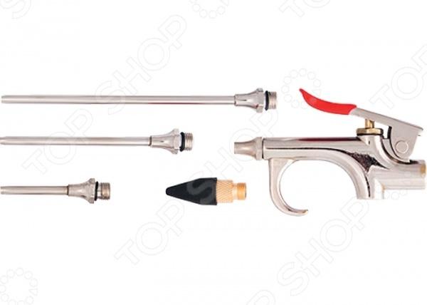 Пистолет продувочный пневматический с насадками MATRIX 57338