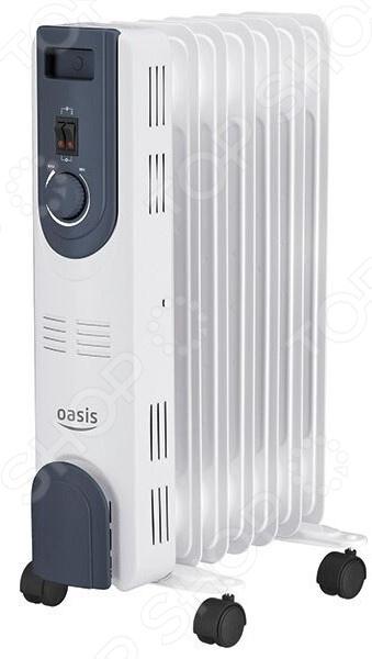 Радиатор масляный Oasis OT-15 масляный радиатор oasis bb 25t cерый