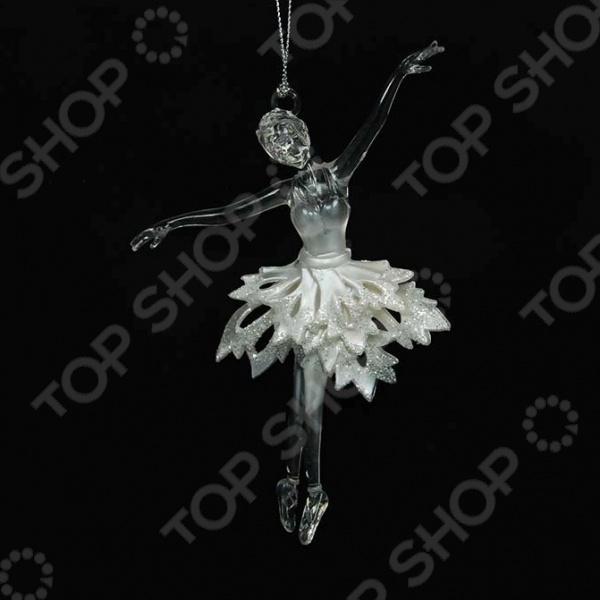 Новогоднее украшение Crystal Deco «Балерина» новогоднее украшение crystal deco шар в ассортименте