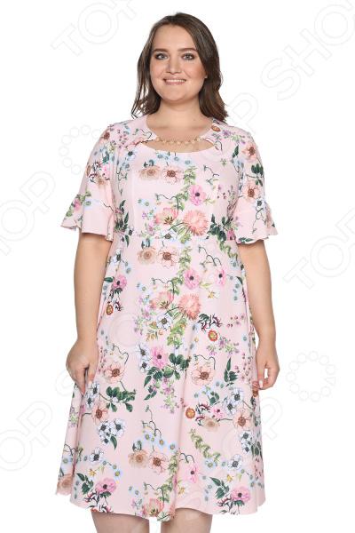 Платье Blagof Платье «Секрет успеха» Цвет: персиковый