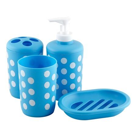 Набор для ванной: 4 предмета. В ассортименте