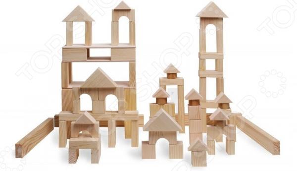 Конструктор деревянный PAREMO «Большой набор» неокрашенный Конструктор деревянный PAREMO «Большой набор» неокрашенный /