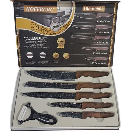 Купить Набор из 5 ножей + овощечистка «Древо»