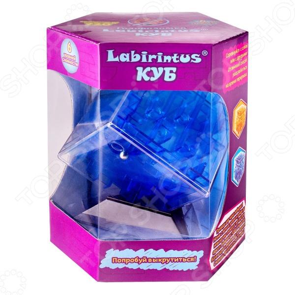 Головоломка Labirintus «Куб прозрачный» Головоломка Labirintus «Куб прозрачный» /Синий