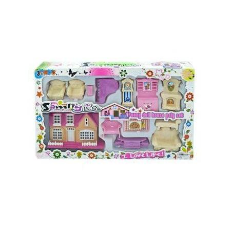 Купить Кукольный дом с аксессуарами Shantou Gepai 626371
