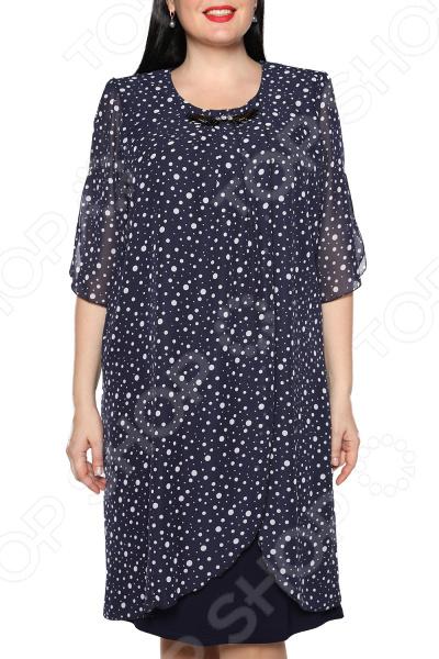 Платье Pretty Woman «Романтика». Цвет: синий, белый