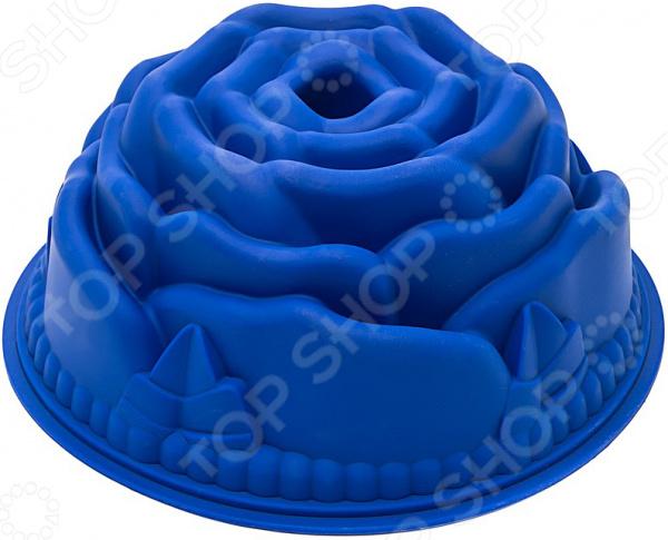 Форма для выпечки силиконовая Bekker «Роза»