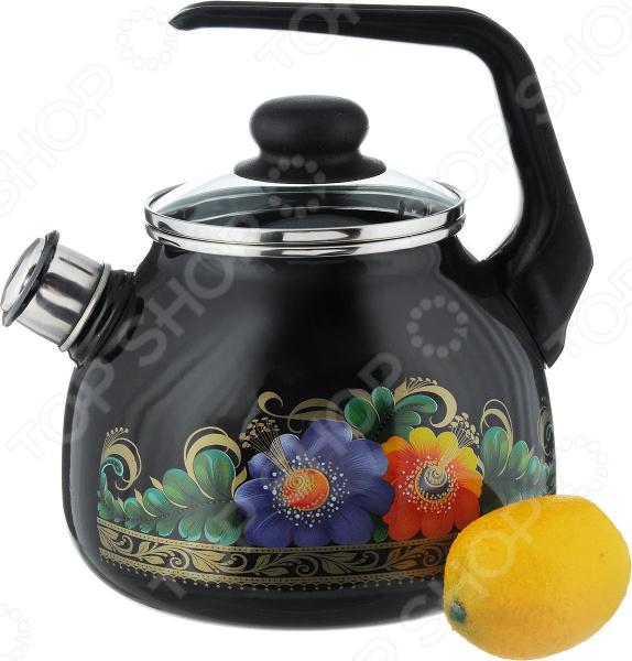 Чайник со свистком Северсталь «Вологда» gipfel чайник для кипячения воды visit 2 7 л