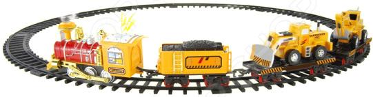 Набор железной дороги со светозвуковыми эффектами 1 Toy «Ретро-Экспресс» с 3-мя вагонами