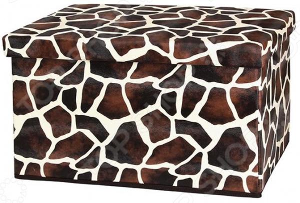 Пуф складной с ящиком для хранения EL Casa «Жираф»