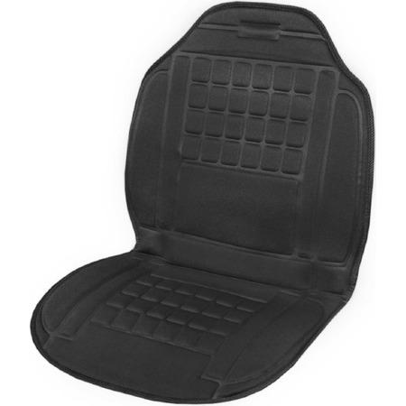 Купить Накидка на сиденье с подогревом SKYWAY со спинкой 95х47 см