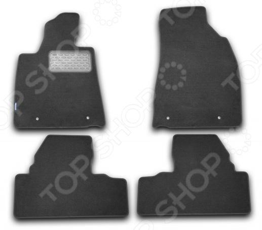 комплект ковриков в салон автомобиля novline autofamily lexus lx 470 1998 2007 внедорожник цвет черный Комплект ковриков в салон автомобиля Novline-Autofamily Lexus RX 350 2009 внедорожник. Цвет: черный
