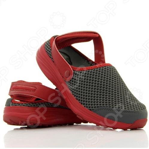 Сандалии-слипы Walkmaxx сделают любую прогулку еще приятнее даже в самую жаркую погоду. Эта удобная обувь подойдет как для улицы, так и для домашнего использования. Однако они особенно хороши для отдыха на пляже. Ремешки перемещаются вперед и назад, что делает возможным использование обуви в качестве сандалий или слипов. Также ремешки можно отстегнуть, ведь они на кнопках. Обувь имеет оригинальную округлую подошву Walkmaxx, которая способствует укреплению мышц ног и ягодиц. Стопа, перекатываясь с пятки на носок, находится в постоянном движении, усиливая циркуляцию крови. В результате ноги не затекают. При ходьбе в этих сандалиях давление перераспределяется с суставов на мышцы, что позволяет терять вес и укреплять свое тело с каждым вашим шагом. Оцените основные преимущества Walkmaxx Beach Slip On:  Удобные, привлекательные и современные: новый яркий дизайн, подчеркивающий изысканность вашего повседневного внешнего вида.  Оригинальная подошва округлой формы Walkmaxx изготовлена из EVA-резиновой смеси, обеспечивающей дополнительную амортизацию.  На пятках сандалий встроены гелиевые вкладыши для превосходной амортизации и поглощения ударов при ходьбе.  Поверхность сделана из современного материала, который создает отличную вентиляцию, сохраняя ноги свежими и сухими.  Обеспечивают правильное положение стопы.