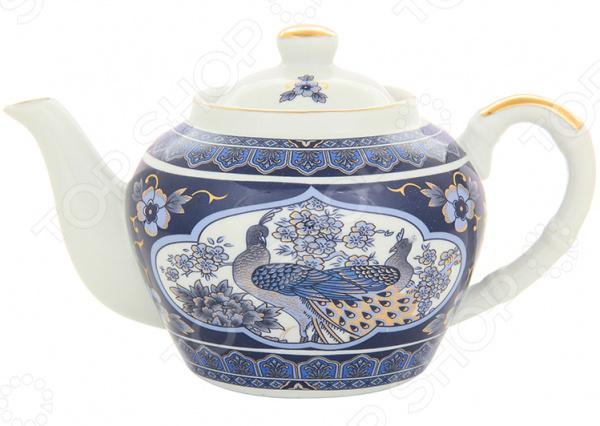 Чайник заварочный с ситом Elan Gallery «Павлин» 180315