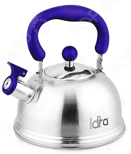 Чайник со свистком LARA LR00-61 чайник lara lr00 61