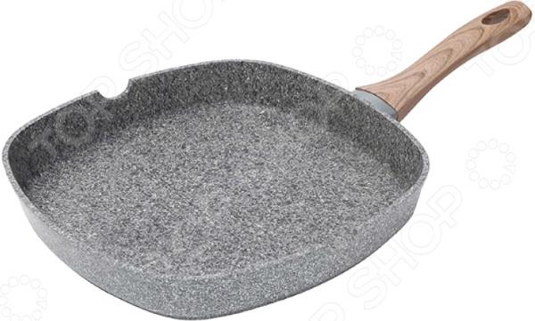 Сковорода-гриль Bergner SG-6154 Granito сковорода гриль bergner carbon tt