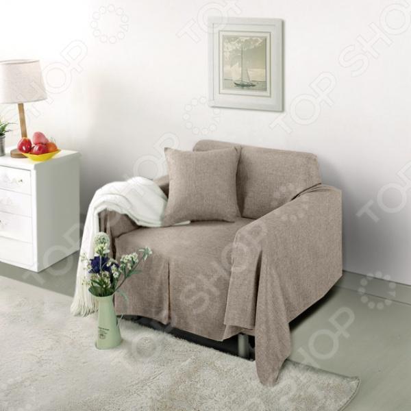 Чехол на кресло Медежда «Лидия» чехол на мебель медежда чехол на стул с юбкой иден коричневый