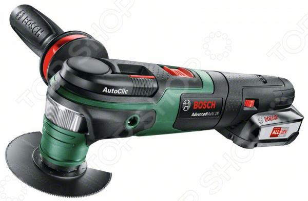 Машина шлифовальная многофункциональная Bosch AdvancedMulti18 машина шлифовальная многофункциональная skil 7207la