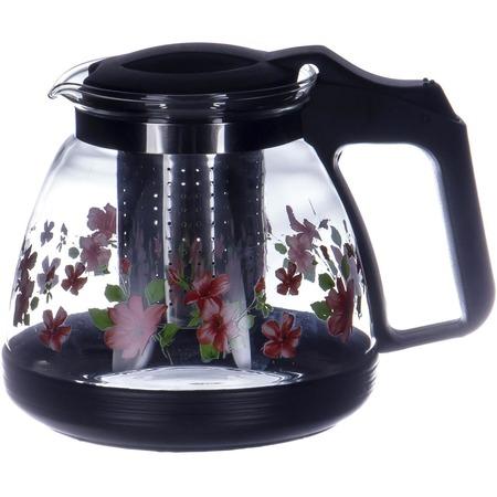 Купить Чайник заварочный с ситом OlAff «Цветочки»