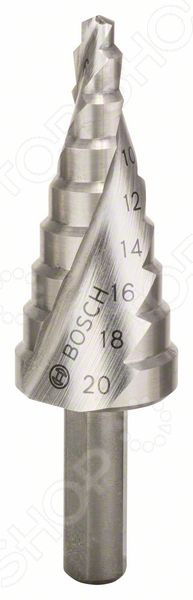 Сверло ступенчатое Сверло по металлу ступенчатое Bosch HSS