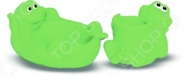 Набор детских игрушек для ванны Весна «Лягушки» Набор детских игрушек для ванны Весна «Лягушки» /