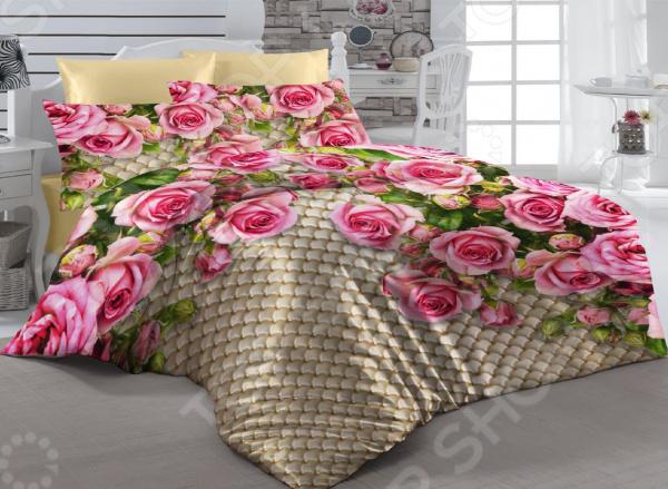 Комплект постельного белья ТамиТекс «Розовый сад»