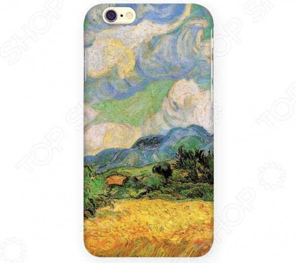 Чехол для iPhone 6 Mitya Veselkov «Ван Гог: Пшеничное Поле» чехол для iphone 5 mitya veselkov ван гог ночь над роной