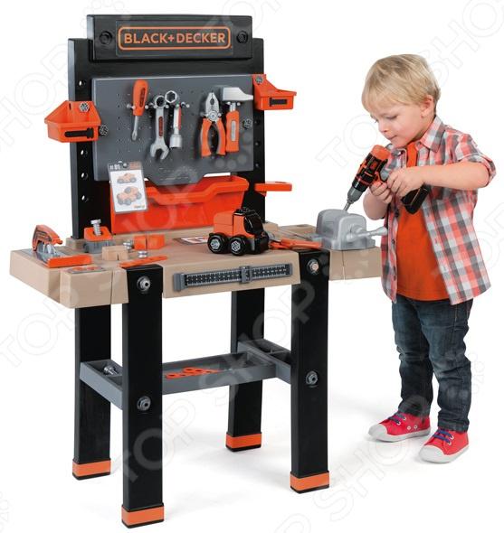 Игровой набор для мальчика Smoby B&D Ultimate «Мастерская с инструментами»