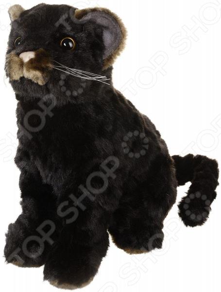Мягкая игрушка Hansa «Детеныш ягуара сидящий»