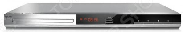 DVD-плеер BBK DVP036S In'Ergo проигрыватель dvd bbk dvp036s караоке серый черный