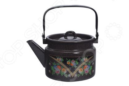 Чайник Лысьвенские эмали 2710/4РкЭ чайник лысьвенские эмали итальянская кухня 3 5 л