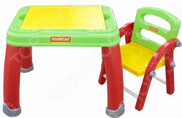 Набор мебели детский: стол и стул POLESIE «Набор дошкольника №2»