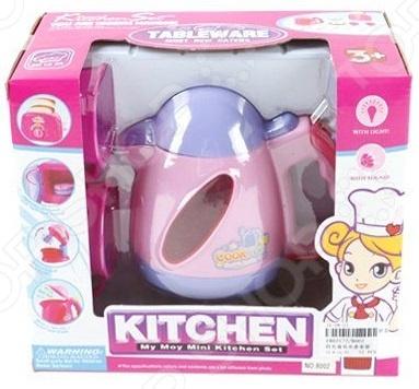 Чайник игрушечный Shantou Gepai «Моя маленькая кухня» чайник shantou gepai моя маленькая кухня со звуком и светом 8002
