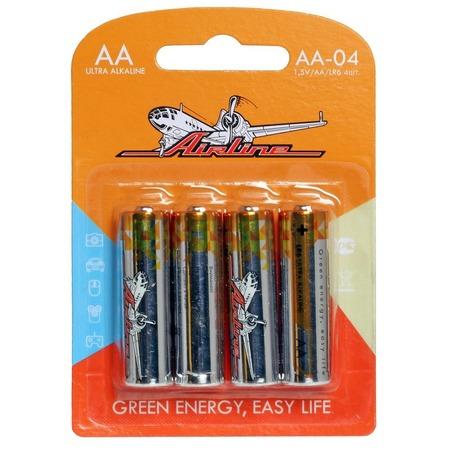 Набор батареек щелочных Airline LR6/AA