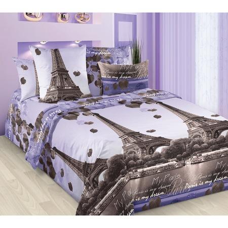 Купить Комплект постельного белья ТексДизайн «Романтика Парижа». 2-спальный