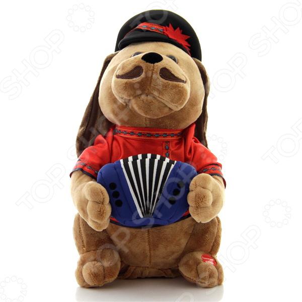 Мягкая игрушка интерактивная Музыкальные подарки «Собачка Ловелас»