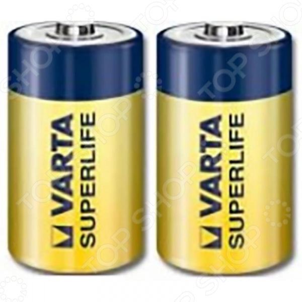 Элемент питания VARTA Superlife c пл 2 батарейки varta superlife d lr20 2 шт